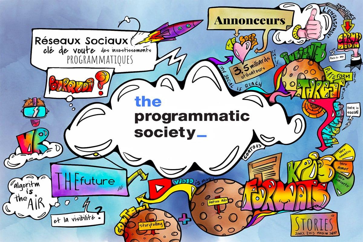 Réseaux sociaux et programmatique